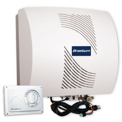 Fan Power Flow-Through Humidifier w/ Manual Humidistat (18 Gal.) Product Image