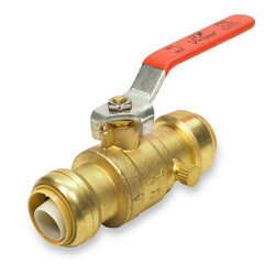 "1"" SharkBite Ball Valve with Drain"