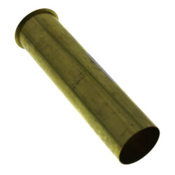 "1-1/2"" x 6"", 22 Gauge, Direct Flanged Sink Tailpiece (Rough Brass) Product Image"