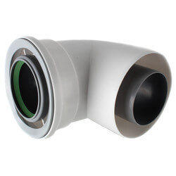 90° Condensing Vent Pipe Elbow Product Image