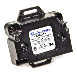 6kV Electronic Industrial Gas Ignitor (Mounting Tabs w/ Primary Plug Set with Pigtails), 120V
