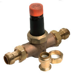 "1"" EB-45 SharkBite Double Union Pressure Regulator (45 PSI)"
