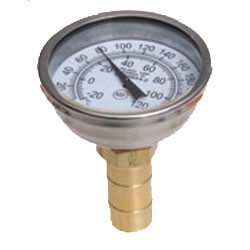 "1/2"" SharkBite Temperature Gauge, Lead Free (No Tee)"