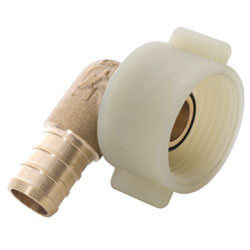 "1/2"" x 7/8"" Sharkbite Ballcock Swivel Toilet Connection Elbow"