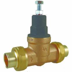 "1"" EB45-CC Pressure Regulating Valve, Union Sweat (45 psi) Product Image"