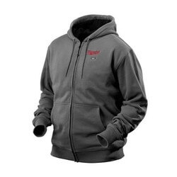 M12 Grey Heated Hoodie Only (X-Large) Product Image