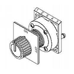 2-Position, 4-Port Selector Switch Product Image