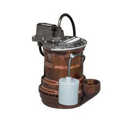 1/4 HP Model 241 Auto Submersible Sump Pump 115V Wide Angle Float Product Image