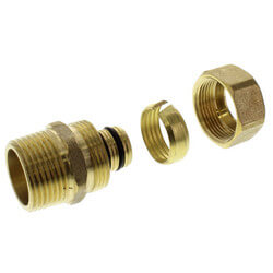 "5/8"" PEX-AL-PEX Compression x 3/4"" Male Threaded Adapter"