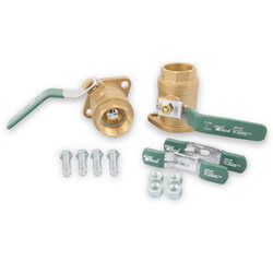 "1-1/2"" Threaded Shut-Off Freedom Flange Set"