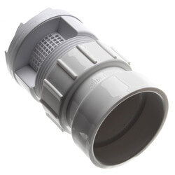 "TurboVent Air Admittance Valve w/ 2"" Combo Adapter Product Image"