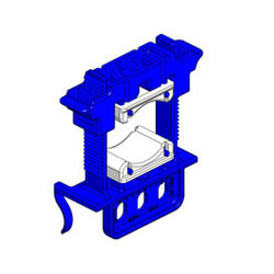 """3/8""""-1"""" Silencer Clamp for EZ-1 & Stout Brackets Product Image"""