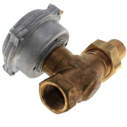 "3/4"" F x FUM Normally Open Valve Assembly<br>3-8 psi, 6.3 Cv Product Image"