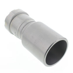 "1-1/2"" FTG x 1"" Press MegaPressG Fitting Reducer Product Image"