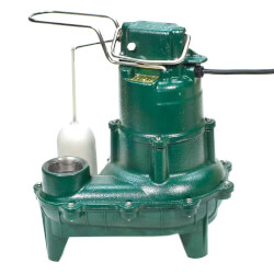 Model M264 Waste-Mate Auto Cast Iron Sewage Pump - 115 V, 0.4 HP Product Image