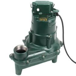 Model N264 Waste-Mate Man. Cast Iron Sewage Pump - 115 V, 0.4 HP Product Image