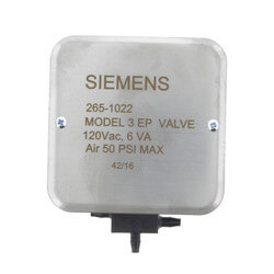 3-Way Model 3 Electro-Pneumatic Valve with Junction Box (110/120V) Product Image