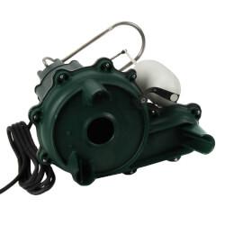 Model M266 Waste-Mate Auto Cast Iron Sewage Pump - 115 V, 1/2 HP Product Image