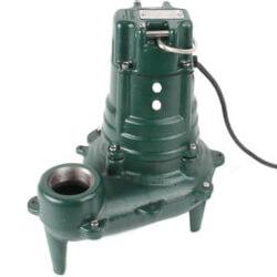 Model N267 Waste-Mate Man. Cast Iron Sewage Pump - 115 V, 1/2 HP Product Image