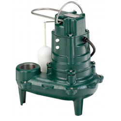 E270 Single Seal Manual Sewage/Effluent Pump (230V, 1 HP, 7.5 A) Product Image