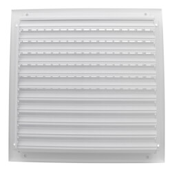 "12"" x 12"" White Sidewall/Ceiling Register (A618MS)"