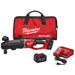 """M18 Fuel Super Hawg<br>1/2"""" Right Angle Drill<br>with Quik-Lok Kit Product Image"""