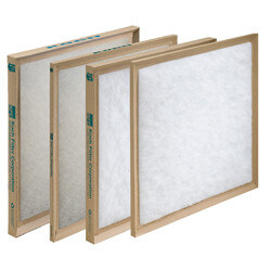 """8"""" x 30"""" x 1"""" Polyester Throw Away Replacement Filter Product Image"""