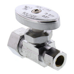 """5/8"""" OD Compression x 3/8"""" OD Compression Straight Stop (Lead Free) Product Image"""