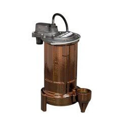 3/4 HP Man. Effluent Pump 115v, 25' Cord Product Image