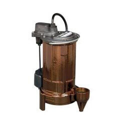 3/4 HP Model Auto Effluent Pump, 208-230V (25' Cord) Product Image