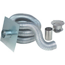 "4"" x 15 Ft. Insul-Vent<br>Gas Fireplace Kit Product Image"
