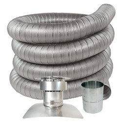 """3"""" x 10 FT Stainless<br>Steel Oil Liner Kit Product Image"""