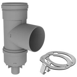 """2"""" PolyPro Tee with Drain Cap w/ LB2 Product Image"""
