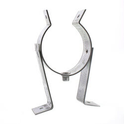 "6"" PolyPro Galvanized Metal Wall Strap Product Image"