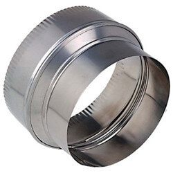 "10"" (Crimped) to 6"" Stainless Steel Reducer Product Image"
