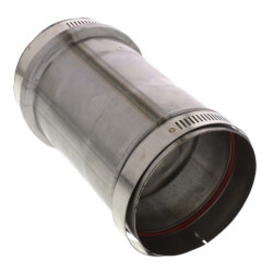"3"" Z-Vent Double Wall Tee Cap with Drain Product Image"