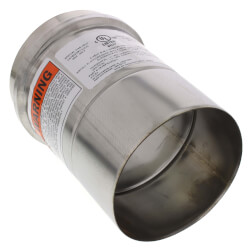 "4"" x 6"" Z-Vent Single Wall Pipe"
