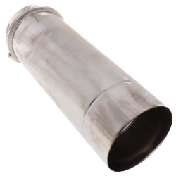 "4"" x 1 Ft. Z-Vent<br>Single Wall Pipe Product Image"