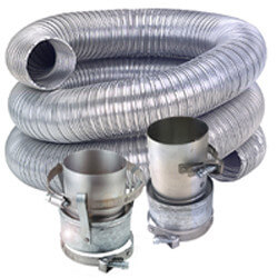 "4"" x 3 Ft. Single Vent Kit Product Image"