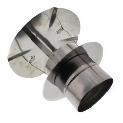 "5"" Z-Vent Single Wall Low Resistance Rain Cap Product Image"