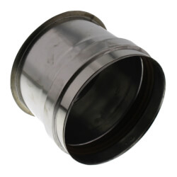 "5"" Z-Vent Tee Cap with Drain Product Image"
