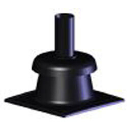 """4"""" Z-DENS Chimney Cap w/ Pipe Length Product Image"""