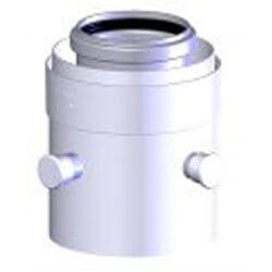 """2""""/4"""" Z-DENS PPS/ALU Polypropylene Test Port Product Image"""