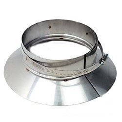 "3"" Stainless Steel Top Support / Storm Collar Product Image"