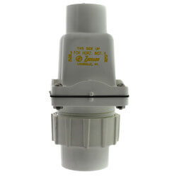 "1 1/2"" PVC Check Valve, Union Combination"