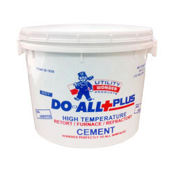 1/2 Gal. DO-ALL+PLUS Furnace Cement