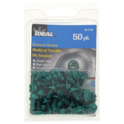 Thread-Forming, Hole-Finding Combo Hex Ground Screw (Card of 50) Product Image