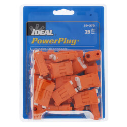 PowerPlug Luminaire Disconnect 2-Wire<br>(Pack of 25) Product Image