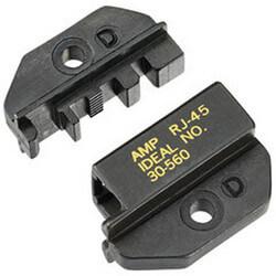 30 560 ideal 30 560 rj 45 amp die set for crimpmaster crimp tool. Black Bedroom Furniture Sets. Home Design Ideas