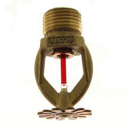 Brass Residential Pendant Sprinkler Head - 155°F (3.0 K-Factor) Product Image